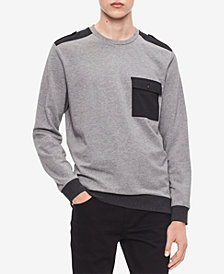 Calvin Klein Men's Colorblocked Long-Sleeve Sweatshirt