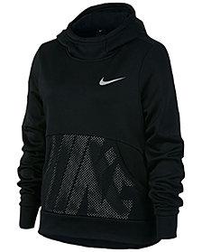 Nike Big Girls Therma Pullover Hoodie