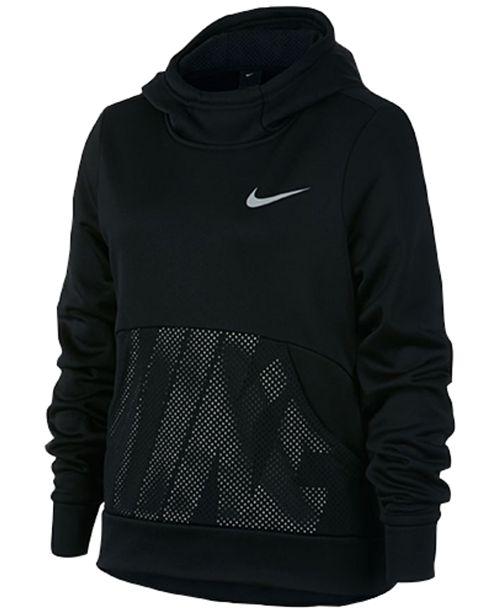 d407b5b870aa Nike Big Girls Therma Pullover Hoodie   Reviews - Sweaters - Kids ...
