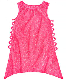 Summer Crush Big Girls Crochet Swim Cover-Up