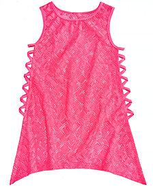 Summer Crush Big Girls Crochet Swim Cover-Up