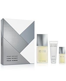 Issey Miyake Men's 3-Pc. L'Eau d'Issey Pour Homme Gift Set