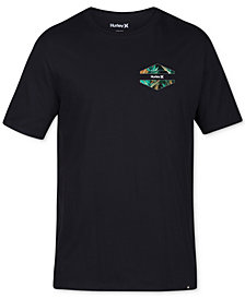 Hurley Men's Rundown Graphic-Print Shirt