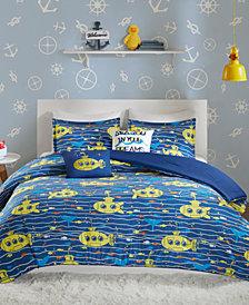 Urban Habitat Kids Hawkins 4-Pc. Twin/Twin XL Cotton Comforter Set