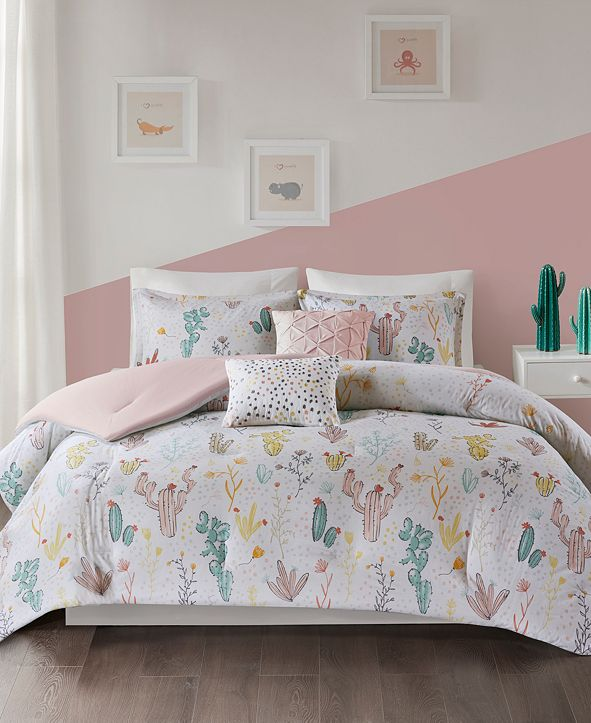 Urban Habitat Desert Bloom 5-Pc. Full/Queen Cotton Coverlet Set