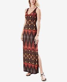 Karen Kane Ikat-Print Maxi Dress