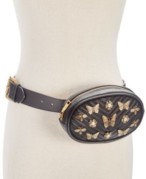 EMBELLISHED QUILTED FANNY PACK