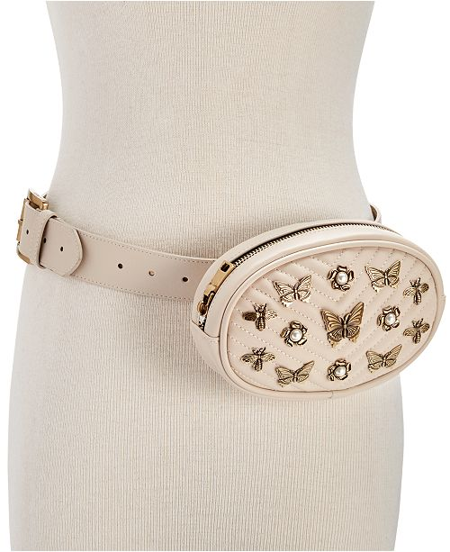 9dd0d380dab4 Steve Madden Embellished Quilted Fanny Pack & Reviews - Handbags ...
