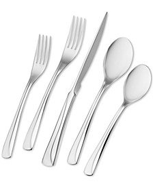 Zwilling Villa Bella 45-Pc. 18/10 Stainless Steel Flatware Set, Service for 8