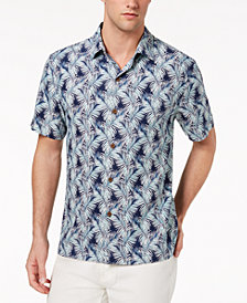 Tommy Bahama Men's Palms of Tulum Tropical-Print Silk Camp Shirt