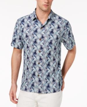 Tommy Bahama Men's Palms of Tulum Tropical-Print Silk Camp Shirt