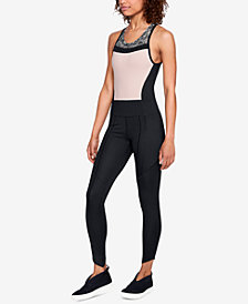 Under Armour Colorblocked Open Racerback Jumpsuit