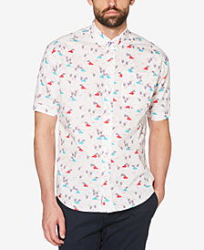 Original Penguin Men's Slurpee-Print Slim-Fit Shirt