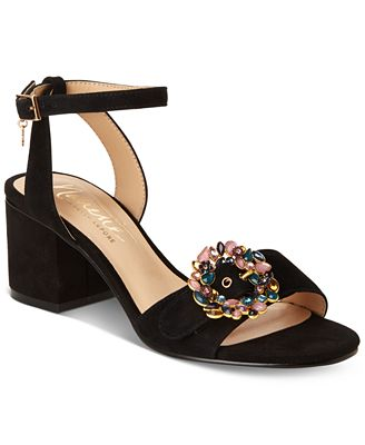 Nanette Lepore Nanette by Buckle Dress Sandals, Created for Macy's Women's Shoes