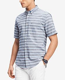Tommy Hilfiger Men's Meyer Stripe Shirt, Created for Macy's