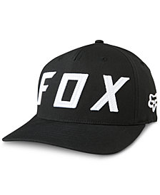 Fox Men's Grizzled Embroidered-Logo Flexfit Hat