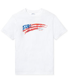 Polo Ralph Lauren Toddler Boys Graphic-Print Cotton T-Shirt