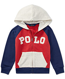 Polo Ralph Lauren Toddler Boys Cotton French Terry Hoodie