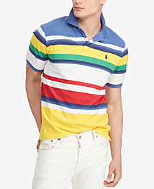Polo Ralph Lauren Men's CP-93 Classic Fit Mesh Cotton Polo