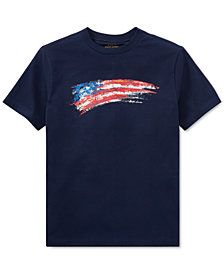 Polo Ralph Lauren Big Boys Cotton Jersey Graphic T-Shirt