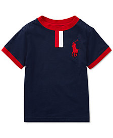 Polo Ralph Lauren Big Pony Cotton Jersey T-Shirt, Little Boys