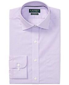 Lauren Ralph Lauren Men's Classic Fit Gingham Cotton Dress Shirt