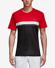 adidas Men's Club ClimaLite® Colorblocked Tennis Shirt