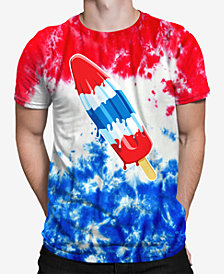 Tie Dye Popsicle Men's T-Shirt by New World