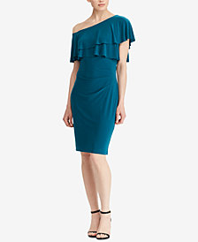 Lauren Ralph Lauren Ruffled Jersey Dress