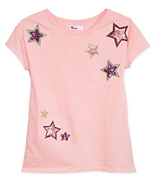 Epic Threads Big Girls Mesh-Back T-Shirt, Created for Macy's