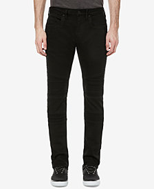 Buffalo David Bitton Men's Max-X Skinny Fit Stretch Moto Jeans