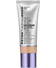 Skin To Die For Mineral-Matte CC Cream SPF 30, 1 fl. oz.