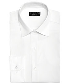 AlfaTech by Alfani Men's Bedford Cord Classic/Regular Fit Dress Shirt, Created For Macy's
