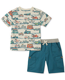 Kids Headquarters Toddler Boys 2-Pc. T-Shirt & Shorts Set
