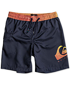 Quiksilver Little Boys Lava Logo-Print Swimsuit