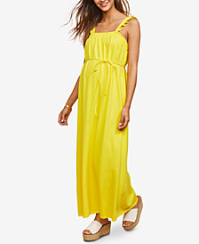 Motherhood Maternity Smocked Maxi Dress