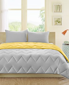 Intelligent Design Trixie Reversible 3-Pc. King/California King Comforter Set