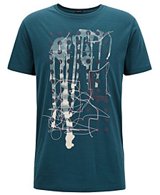 BOSS Men's Regular/Classic-Fit Graphic-Print Cotton T-Shirt