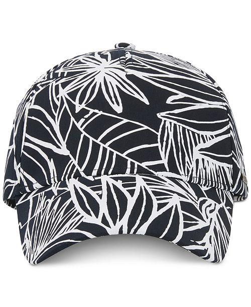 8ae57bf0 Hugo Boss BOSS Men's Floral-Print Cotton Cap & Reviews - Hats ...