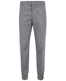 BOSS Men's Slim-Fit Cuffed Trousers