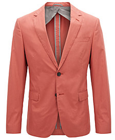 BOSS Men's Slim-Fit Cotton Blazer