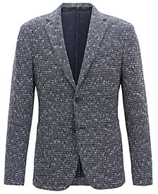 BOSS Men's Slim-Fit Structured Blazer