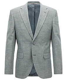 BOSS Men's Regular/Classic-Fit Cotton Blazer