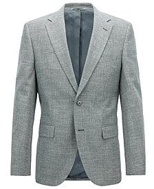 BOSS Men's Regular/Classic-Fit Cotton Blazer