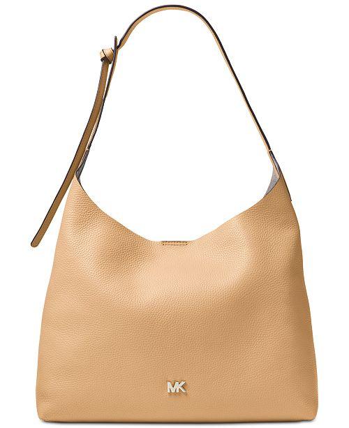 294159011d8e Michael Kors Junie Pebble Leather Hobo. Macy's / Handbags & Accessories