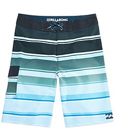 Billabong Little Boys All Day Striped Swimsuit
