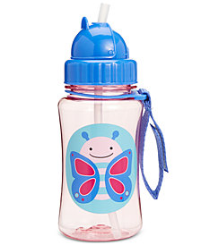 Skip Hop Butterfly Zoo Straw Water Bottle
