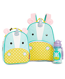 Skip Hop Unicorn Backpack, Lunch Bag & Water Bottle Separates