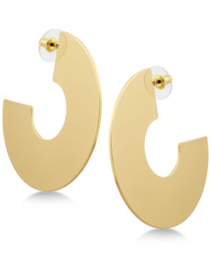 C-HOOP EARRINGS
