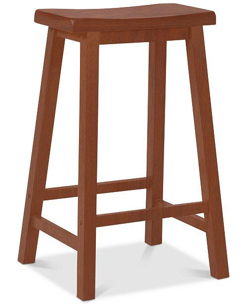 Powell Furniture Honey Brown 29 Bar Stool